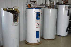 Water Heater during laboratory test of CORRO-PROTEC Anodes Rods