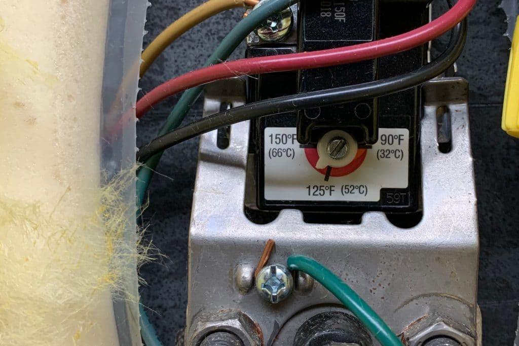 Hot Water Heater Temperature