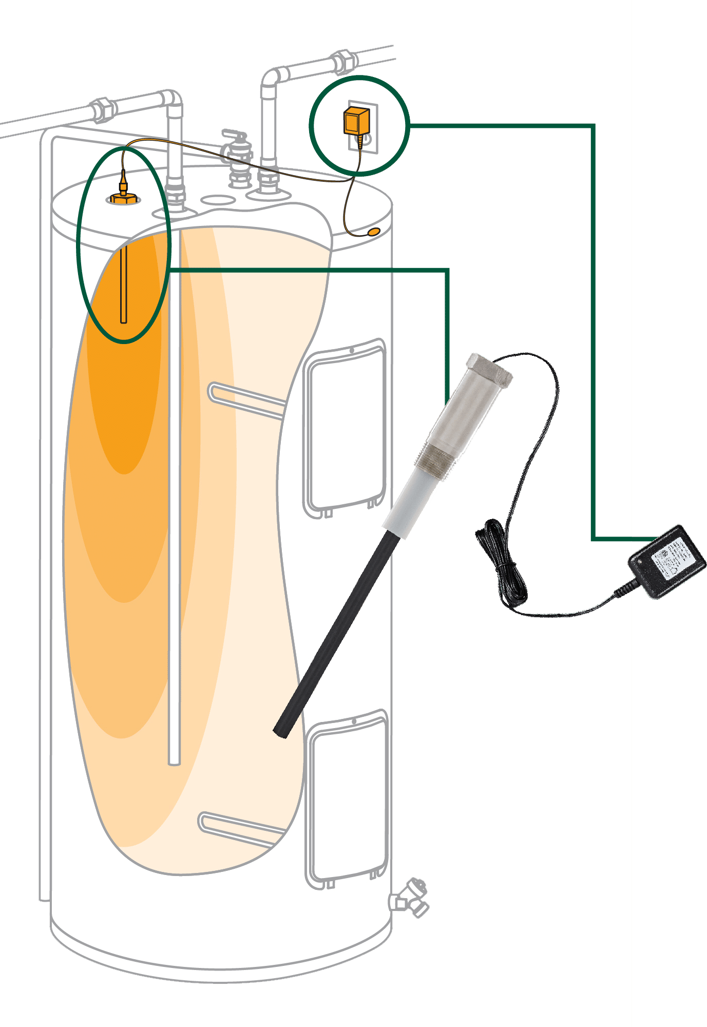 Ang pag-install ng Corro-Protec anode