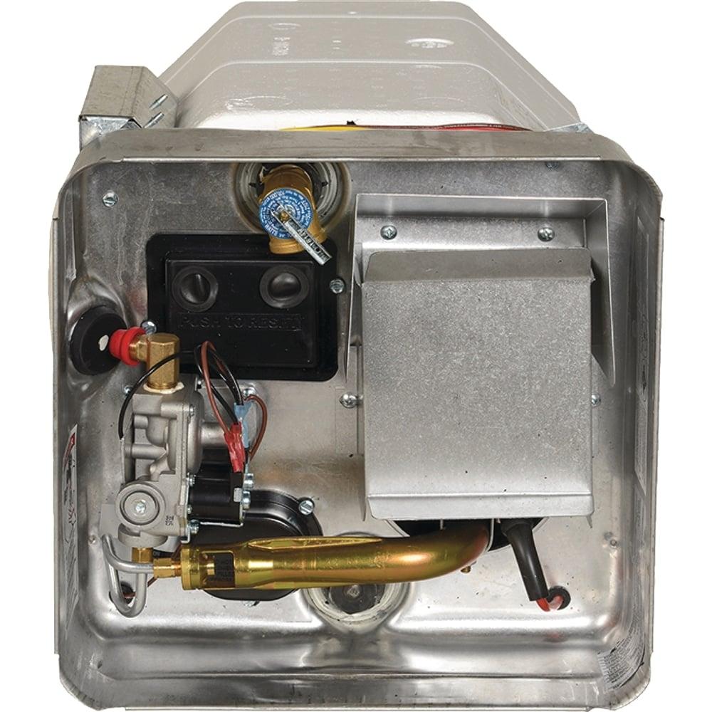 Calentador de agua para vehículos recreativos (suburbano)